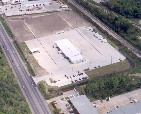 CSE Service Center Aerial, St. Rose, Louisiana | DonahueFavret Contractors, Inc. | Louisiana Commercial General Contractors