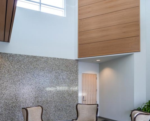 Pontchartrain Housing Corp Office Lobby 1 | DonahueFavret Contractors, Inc. | Louisiana Commercial General Contractors