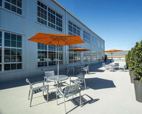 Turn Services Corporate Office Patio | DonahueFavret Contractors, Inc. | Louisiana Commercial General Contractors