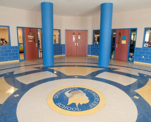 Chalmette Elementary School Lobby | DonahueFavret Contractors, Inc. | Louisiana Commercial General Contractors