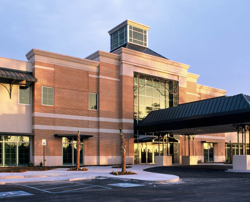 Louisiana Heart Hospital Lacombe Exterior