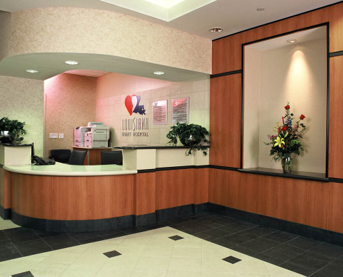 Louisiana Heart Hospital Lacombe Lobby