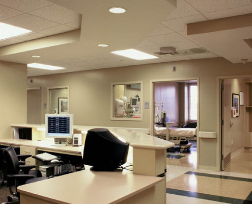 Louisiana Heart Hospital Lacombe Nurse Station