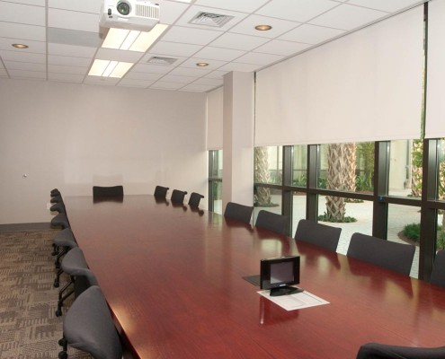 Loyola Law Clinic New Orleans Conference Room | DonahueFavret Contractors, Inc. | Louisiana Commercial General Contractors