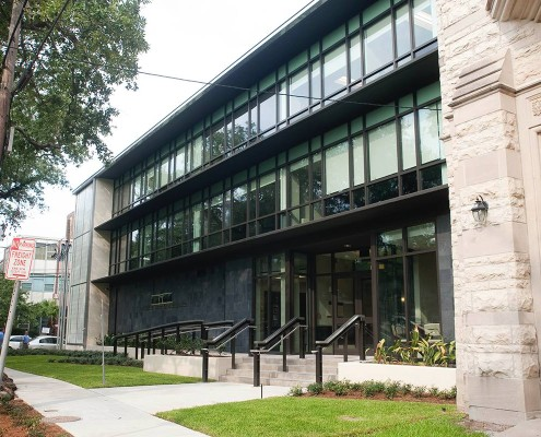 Loyola Law Clinic New Orleans LEED Exterior | DonahueFavret Contractors, Inc. | Louisiana Commercial General Contractors