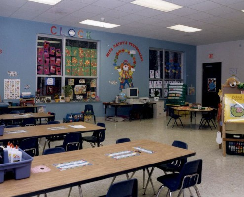Mary Queen of Peace Elementary School Mandeville Classroom
