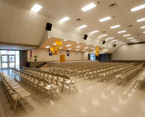 St. Paul's School Covington Assembly Center Renovation Interior
