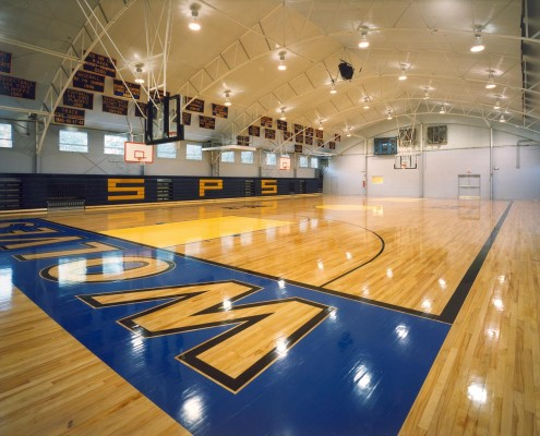 St. Paul's School Covington New Gym Interior