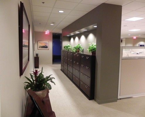 Tidewater Corporate Office Common Area | DonahueFavret Contractors, Inc. | Louisiana Commercial General Contractors