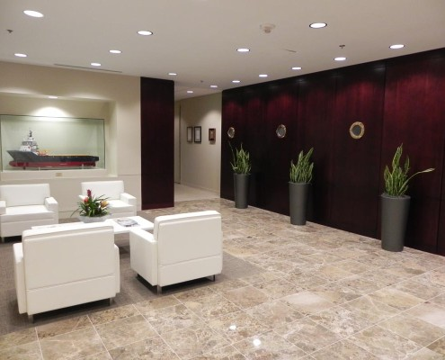 Tidewater Corporate Office New Orleans Lobby 2