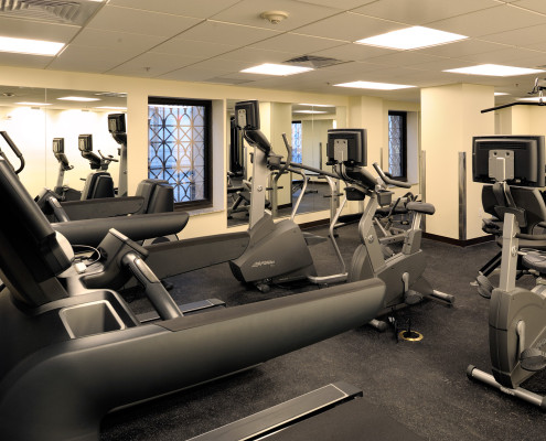200 Carondelet New Orleans Historic Renovation Fitness Room