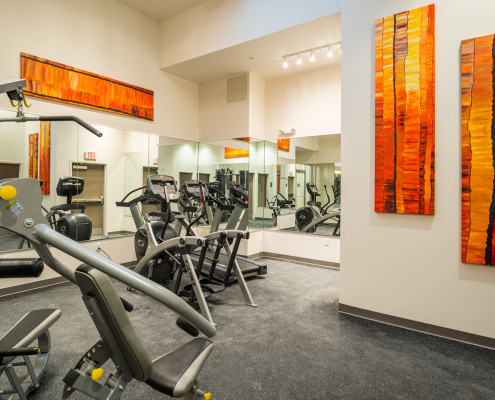 LaSalle Apartments Historic Renovation New Orleans Exercise Room