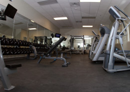 Louisiana Army National Guard Bogalusa Readiness Center Fitness Center