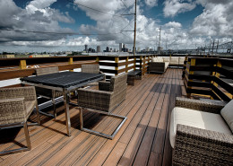 Lykes Apartments New Orleans Historic Renovation Roof Deck