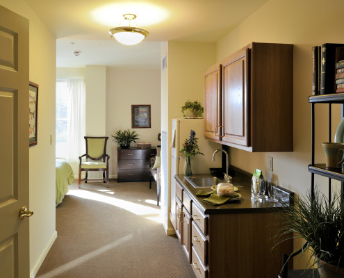 Sunrise Assisted Living Metairie Bedroom