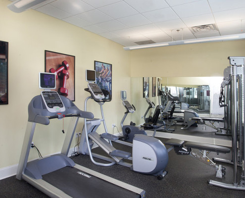 The Groves Housing Covington Fitness Center