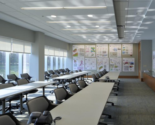 LLOG Office Classroom | DonahueFavret Contractors, Inc. | Louisiana Commercial General Contractors