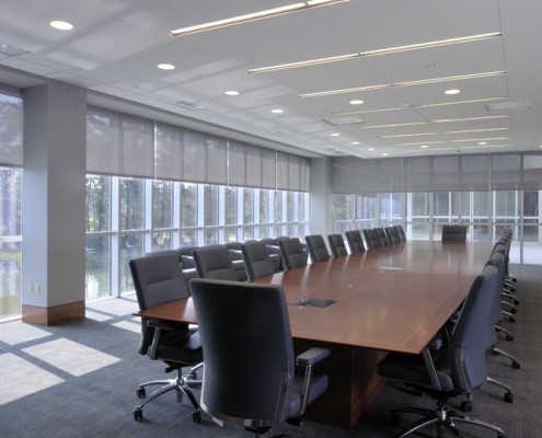 LLOG Office Conference Room | DonahueFavret Contractors, Inc. | Louisiana Commercial General Contractors