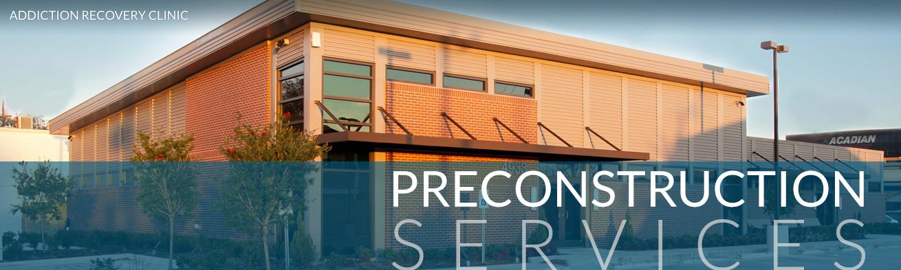 Preconstruction Services | DonahueFavret Contractors, Inc. | Louisiana Commercial General Contractors