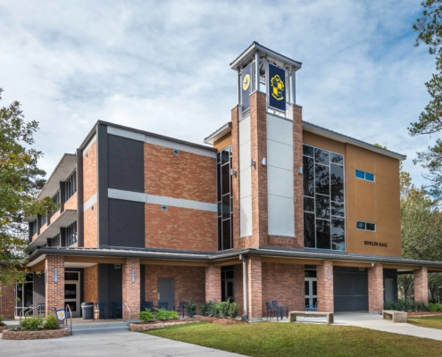 Benilde Hall Exterior | DonahueFavret Contractors | Louisiana and Gulf South