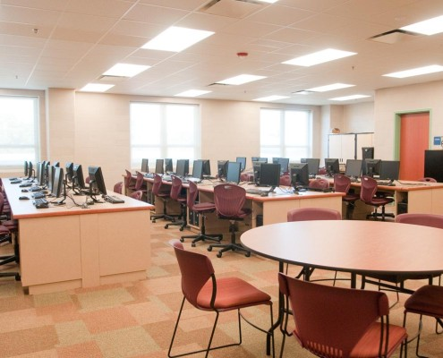 Chalmette Elementary School Computer Lab | DonahueFavret Contractors, Inc. | Louisiana Commercial General Contractors