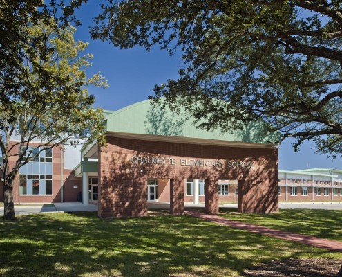 Chalmette Elementary School Exterior | DonahueFavret Contractors, Inc. | Louisiana Commercial General Contractors