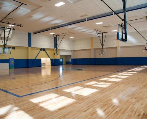 Chalmette Elementary School Gym | DonahueFavret Contractors, Inc. | Louisiana Commercial General Contractors