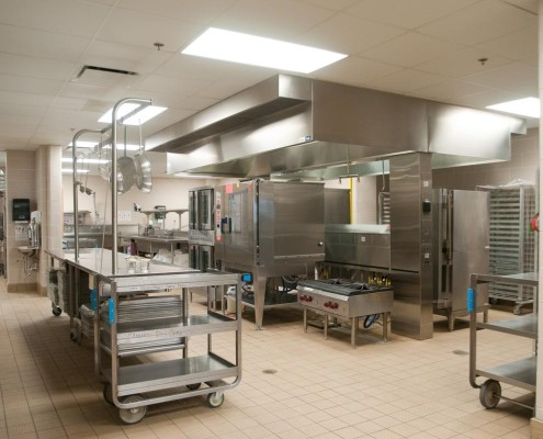 Chalmette Elementary School Kitchen | DonahueFavret Contractors, Inc. | Louisiana Commercial General Contractors
