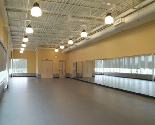 Dominican High School New Orleans Athletics Facility Addition Dance Studio