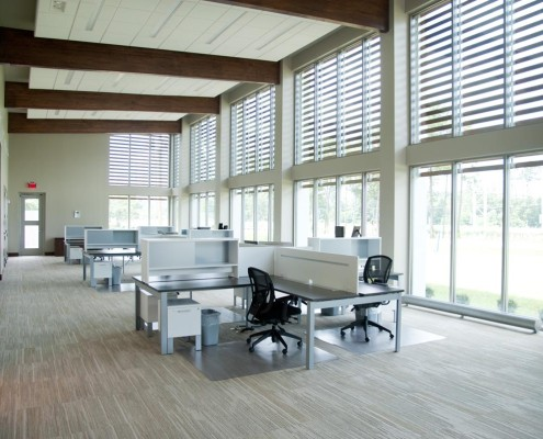 Eagan Insurance Northshore Office Interior | DonahueFavret Contractors, Inc. | Louisiana Commercial General Contractors