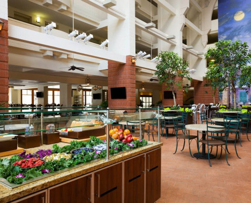 Embassy Suites Hotel Renovation New Orleans Breakfast
