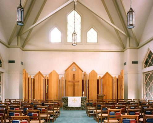 Episcopal Conference Center Chapel Interior