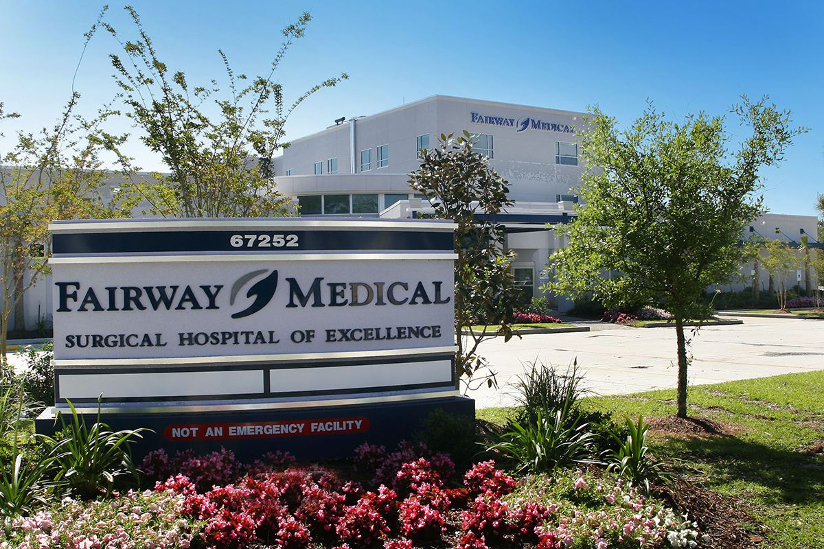 Louisiana Hospital Construction Fairway Medical Center, DonahueFavret