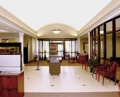 Hancock Bank Covington Interior