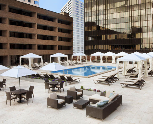 Hyatt Regency New Orleans Renovation Pool