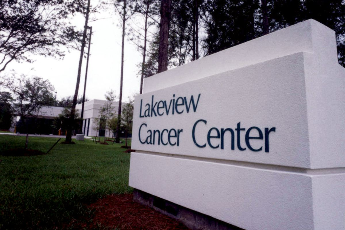 sign for Lakeview Cancer Center Hospital Construction   DonahueFavret General Contractors   Louisiana and Gulf South