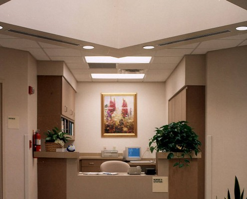 Lakeview Cancer Center Covington Nurse Station   DonahueFavret General Contractors   Louisiana and Gulf South