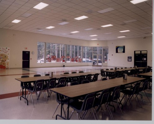 Mary Queen of Peace Elementary School Mandeville Cafeteria