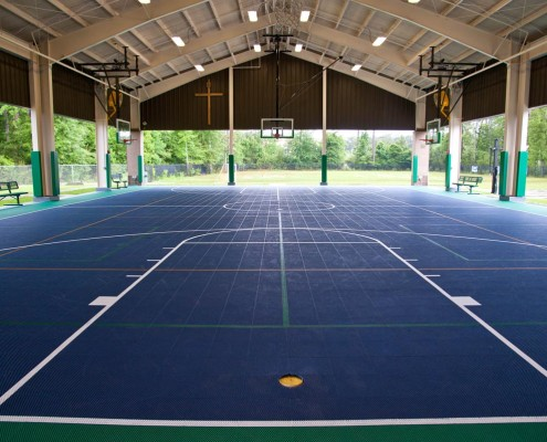 Mary Queen of Peace School Mandeville Covered Court