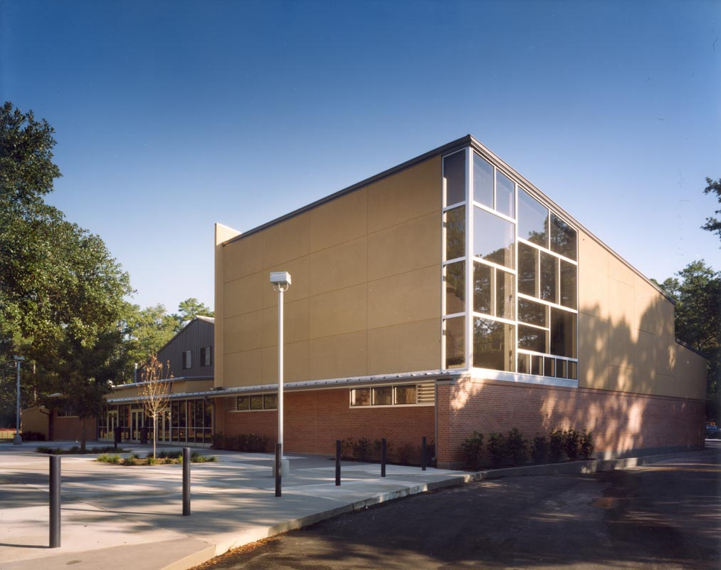 Exterior: St. Paul's School Education Construction