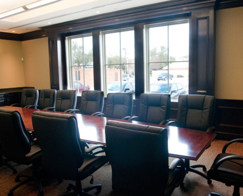 State Investors Bank Metairie Meeting Room