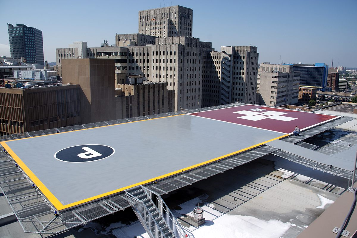 Tulane Medical Center Heliport Construction Project by DonahueFavret