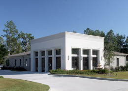 Exterior of Baldone Dermatology Clinic Mandeville LA | DonahueFavret General Contractors Louisiana and Gulf South