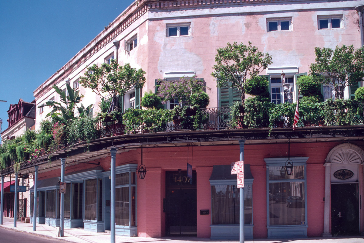 Belle Forche Restaurant Decatur St. New Orleans French Quarter