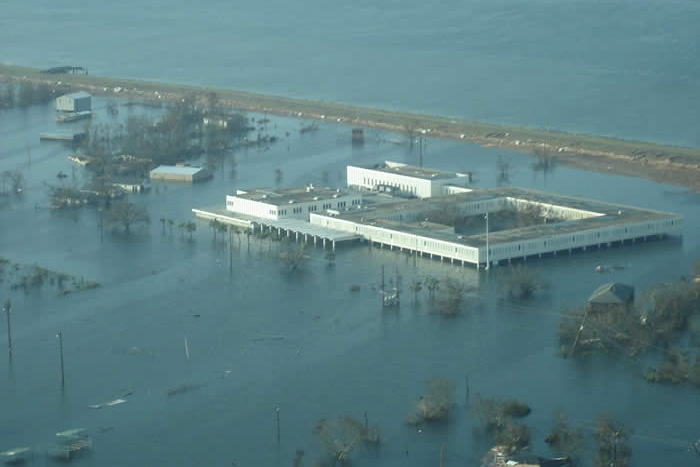 Boothville High School Following Hurricane Katrina