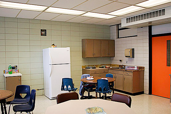 Boothville Venice School Renovation Teachers Lounge