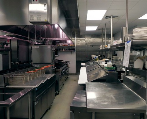 Borgne Restaurant Hyatt New Orleans Kitchen