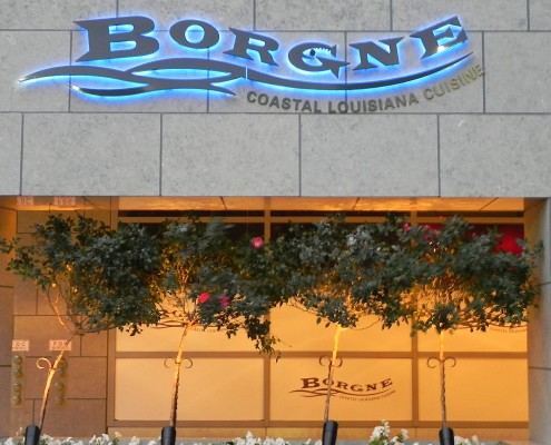 Borgne sign Hyatt New Orleans   DonahueFavret General Contractors   Louisiana and Gulf South