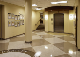 DonahueFavret General Contractor, Louisiana and Gulf South | Carrollton Health Center Lobby