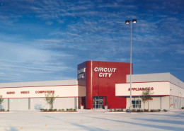 exterior of Circuit City Baton Rouge Louisiana | DonahueFavret General Contractors | Louisiana and Gulf South